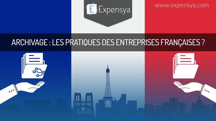 [INFOGRAPHIE] Archivage : Les pratiques des entreprises françaises