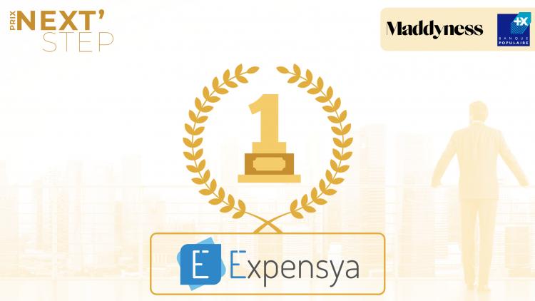 Expensya remporte le Prix Next' Step de la Banque Populaire et Maddyness
