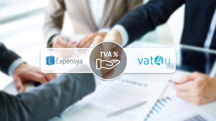 VAT4U & Expensya annoncent un partenariat pour permettre la récupération automatisée de TVA pour les frais de déplacement